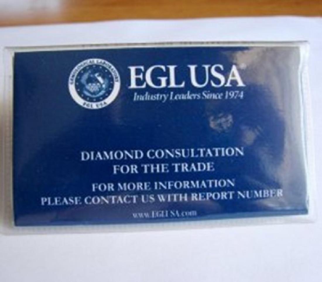Wedding Diamond Ring 1.01Ct 18k W/g EGL Cert - 7