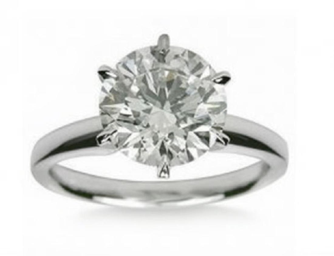 Engagement Diamond Ring 1.36Ct 14k W/g SZ 6