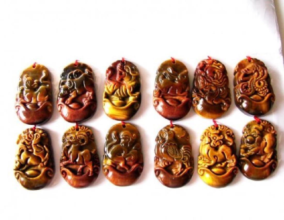 12 Chinese Zodiac Pendants