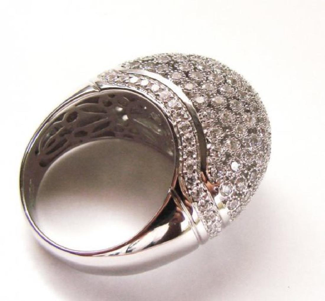 Antique Ring Creation Diamond 2.20Ct 18k W/g Over