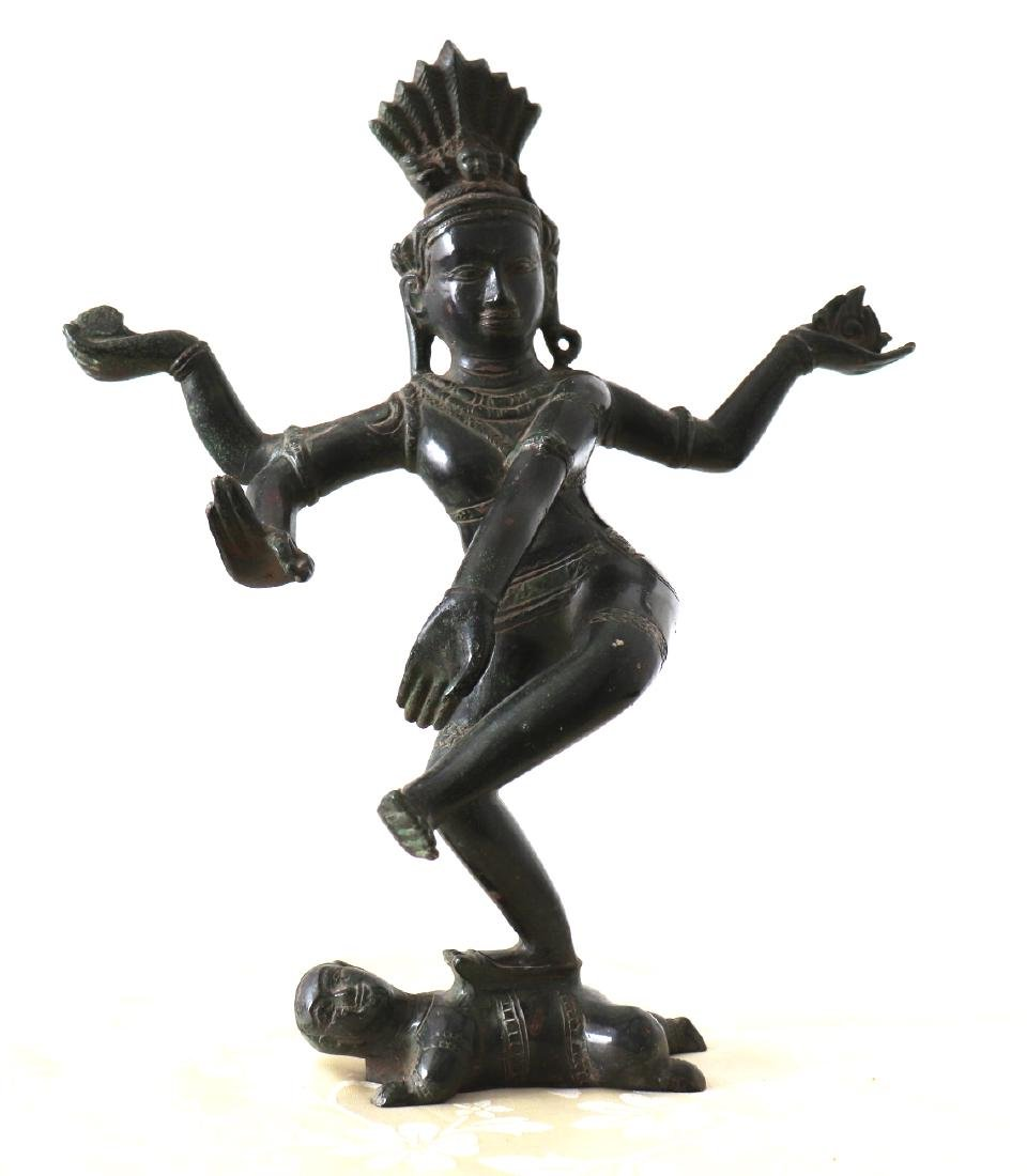 Dieu Shiva Nataraja cosmic Dance Statue 12th Century - 2