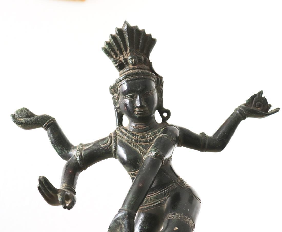 Dieu Shiva Nataraja cosmic Dance Statue 12th Century - 6