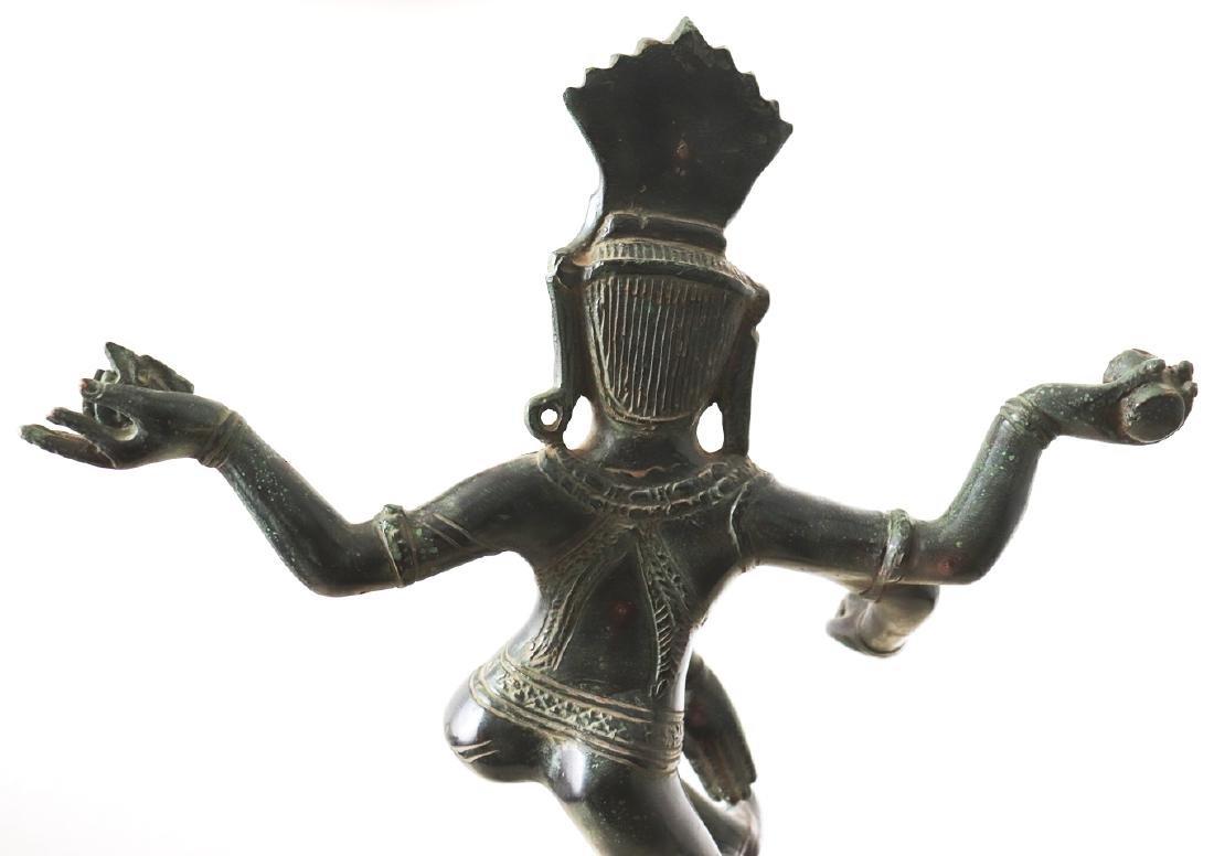 Dieu Shiva Nataraja cosmic Dance Statue 12th Century - 7