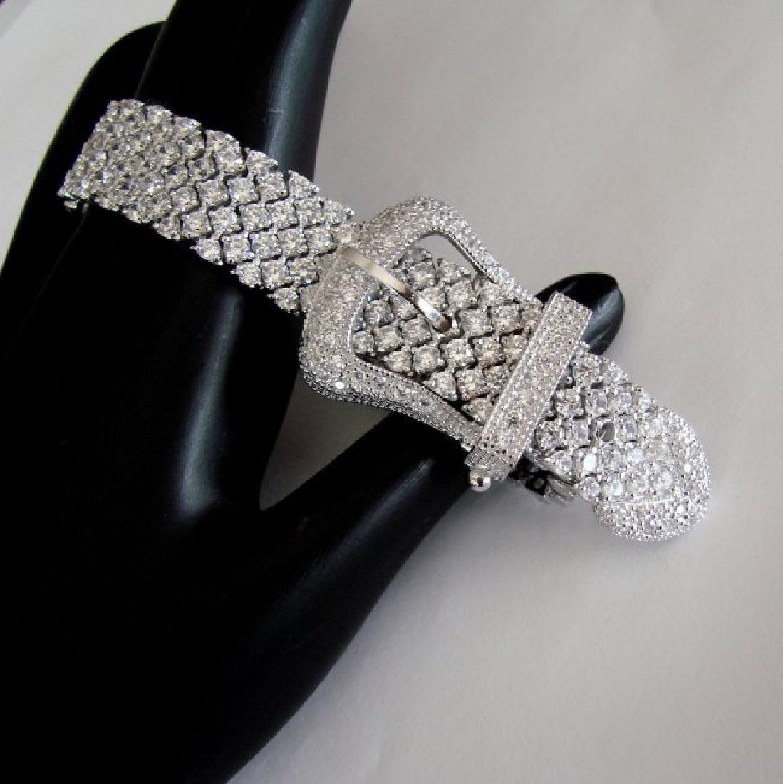 Bracelet Creation Diamond 47.91Ct 18k W/g Overlay - 2