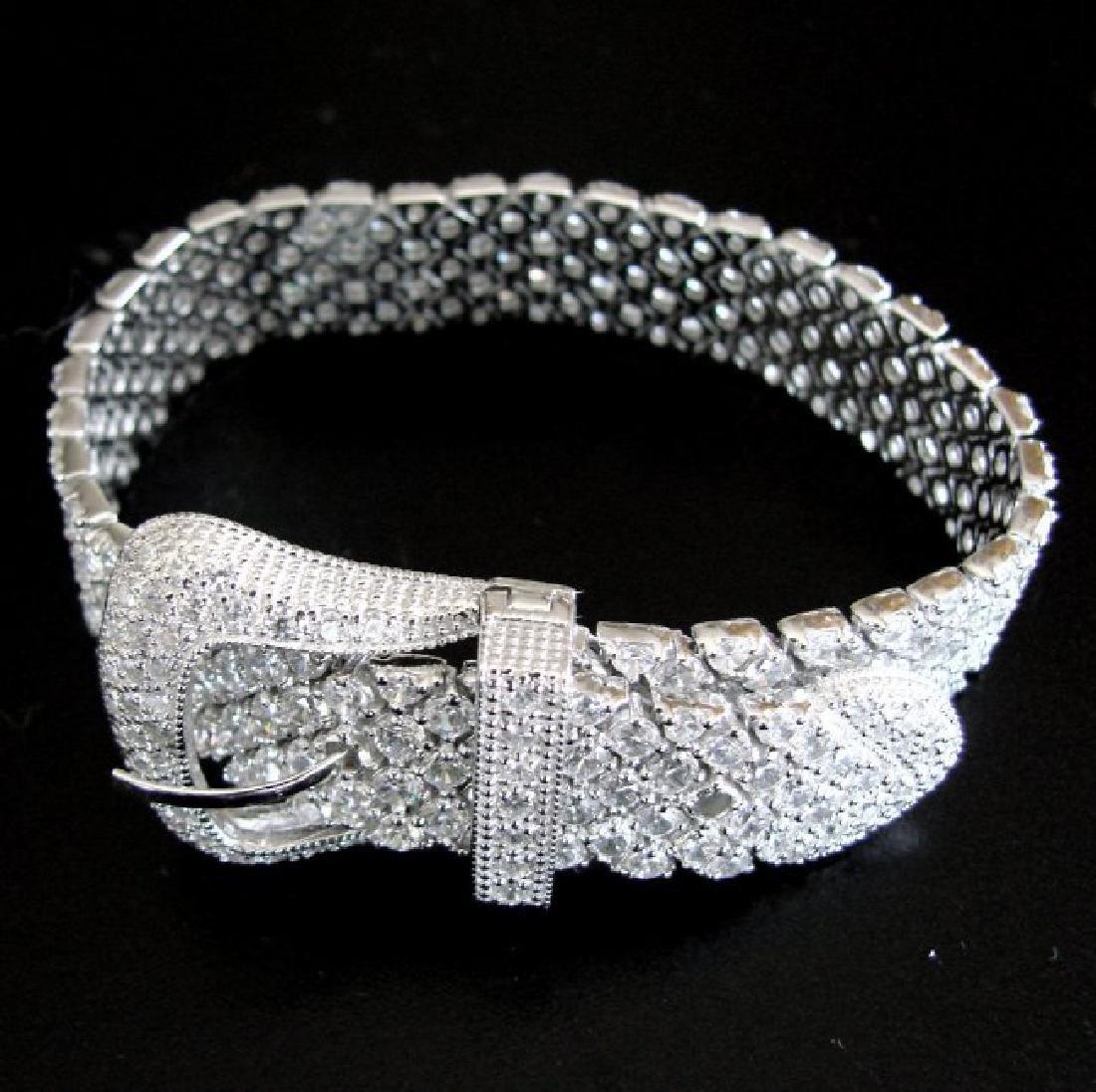 Bracelet Creation Diamond 47.91Ct 18k W/g Overlay - 5