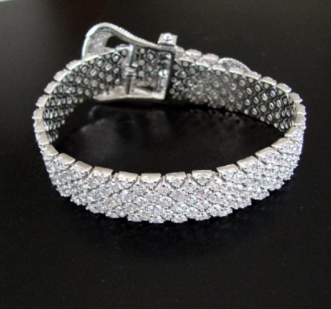 Bracelet Creation Diamond 47.91Ct 18k W/g Overlay - 6