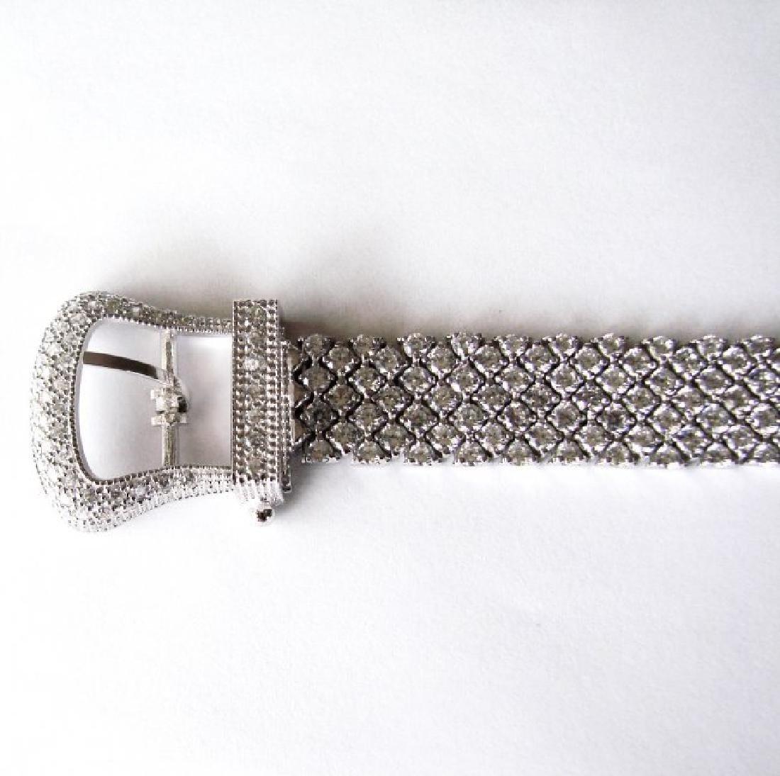 Bracelet Creation Diamond 47.91Ct 18k W/g Overlay - 7