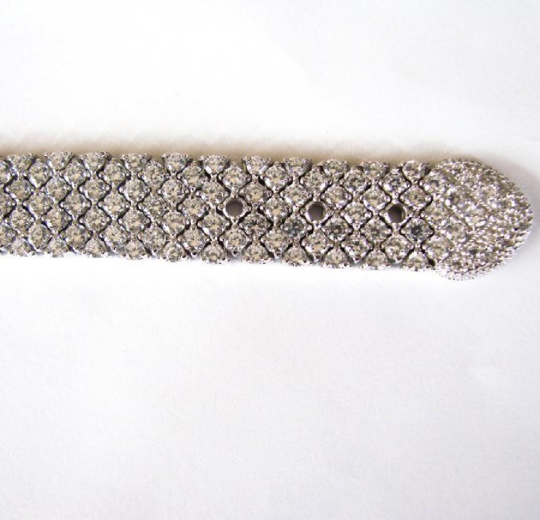 Bracelet Creation Diamond 47.91Ct 18k W/g Overlay - 8
