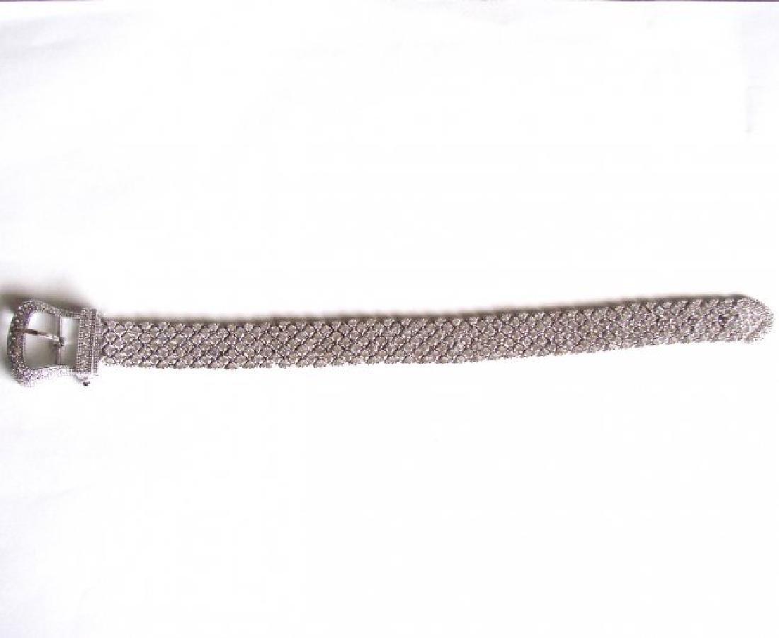 Bracelet Creation Diamond 47.91Ct 18k W/g Overlay - 9