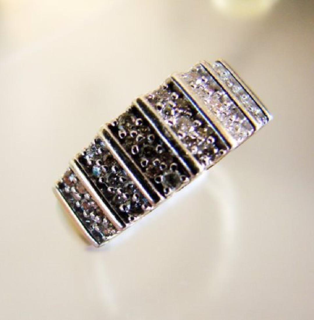 Vintage Diamond Ring .80CT 18k Y/g Overlay - 2
