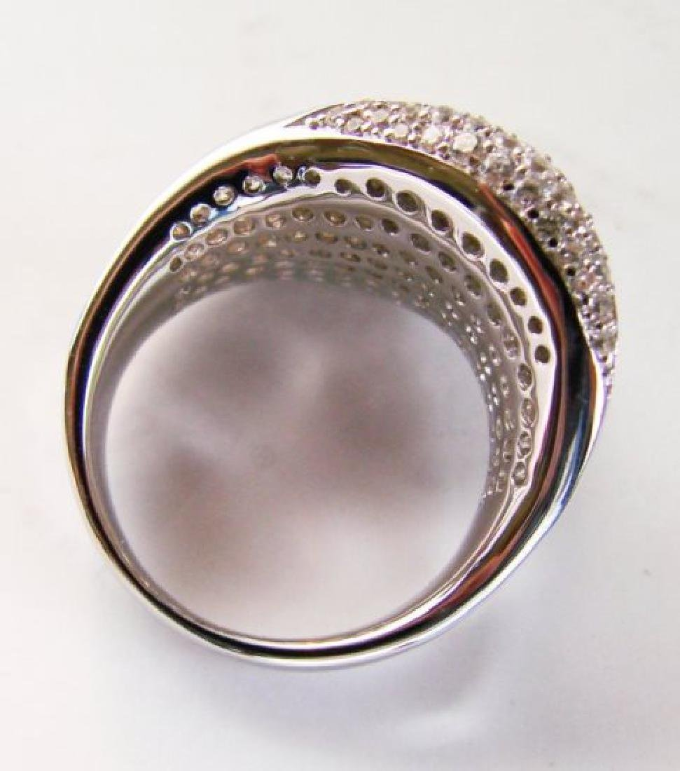 Creation Diamond Ring 3.00Ct 18k W/g Overlay - 4