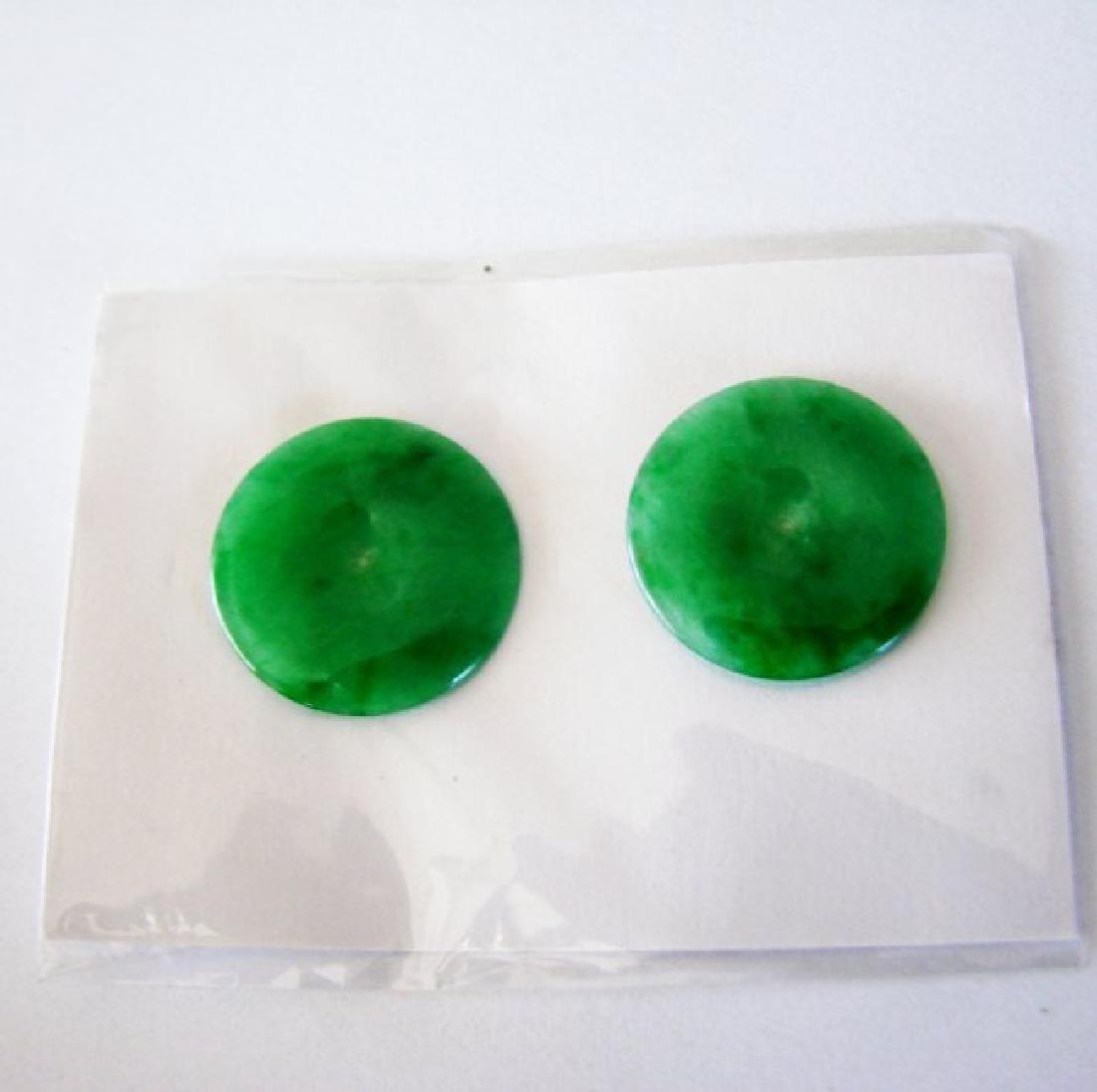 Loose Natural  Jade Grade: A/For Earrings