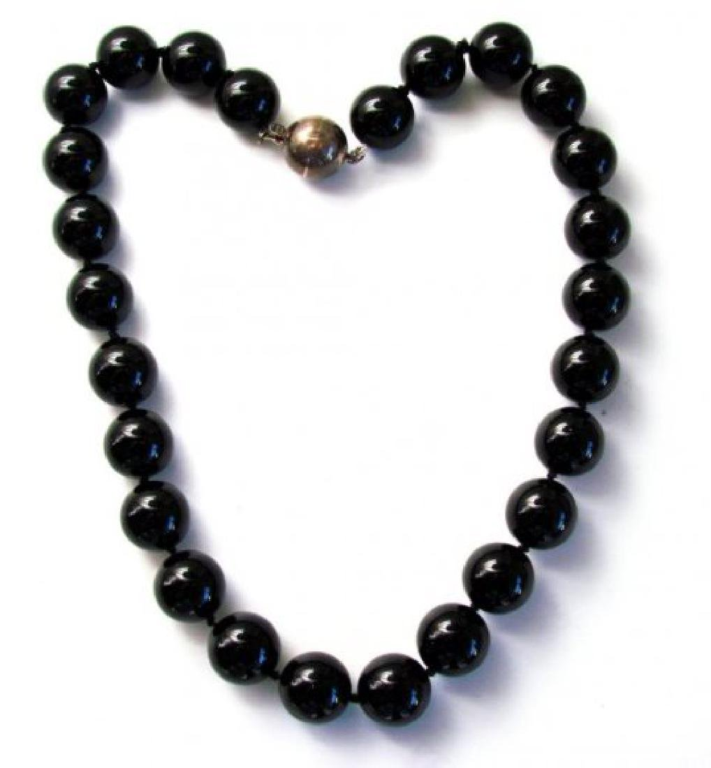 """Necklace Natural Onexy 105.50grms 15mm SZ 17"""" - 2"""