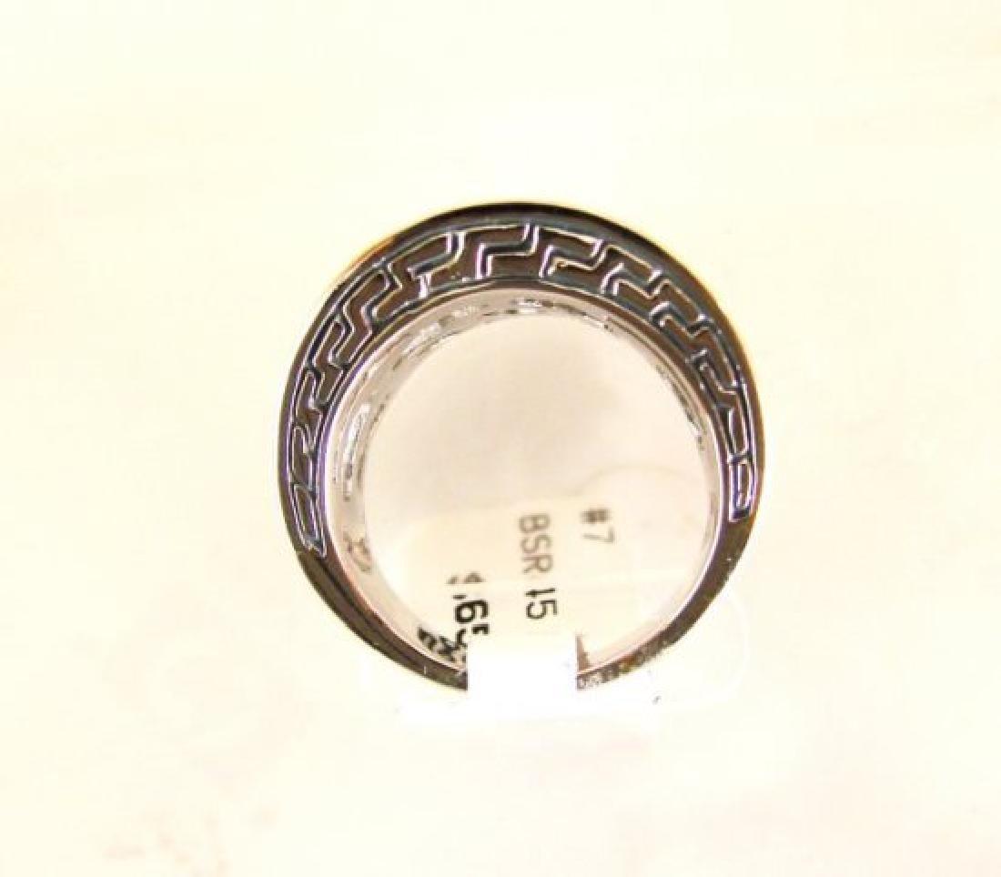 Creation Diamonds Ring .50Ct 18k W-Y/g Overlay - 4