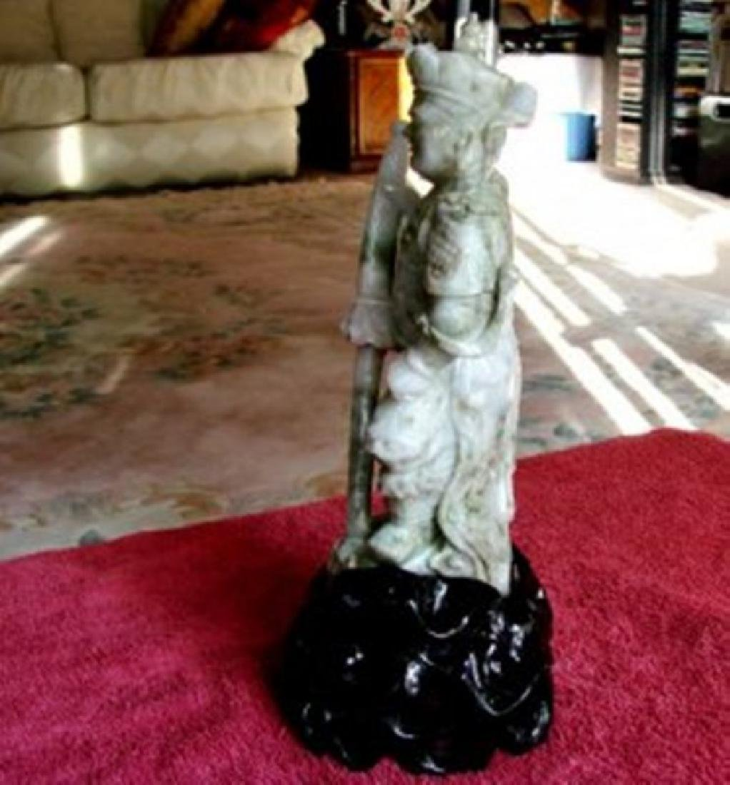 19th Century Jade Carving Famous Dragon Gong Guanyu - 3