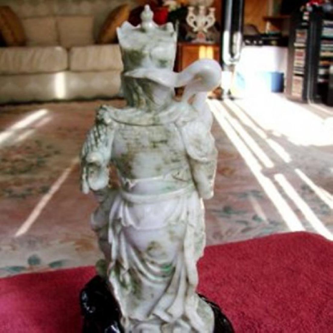 19th Century Jade Carving Famous Dragon Gong Guanyu - 7