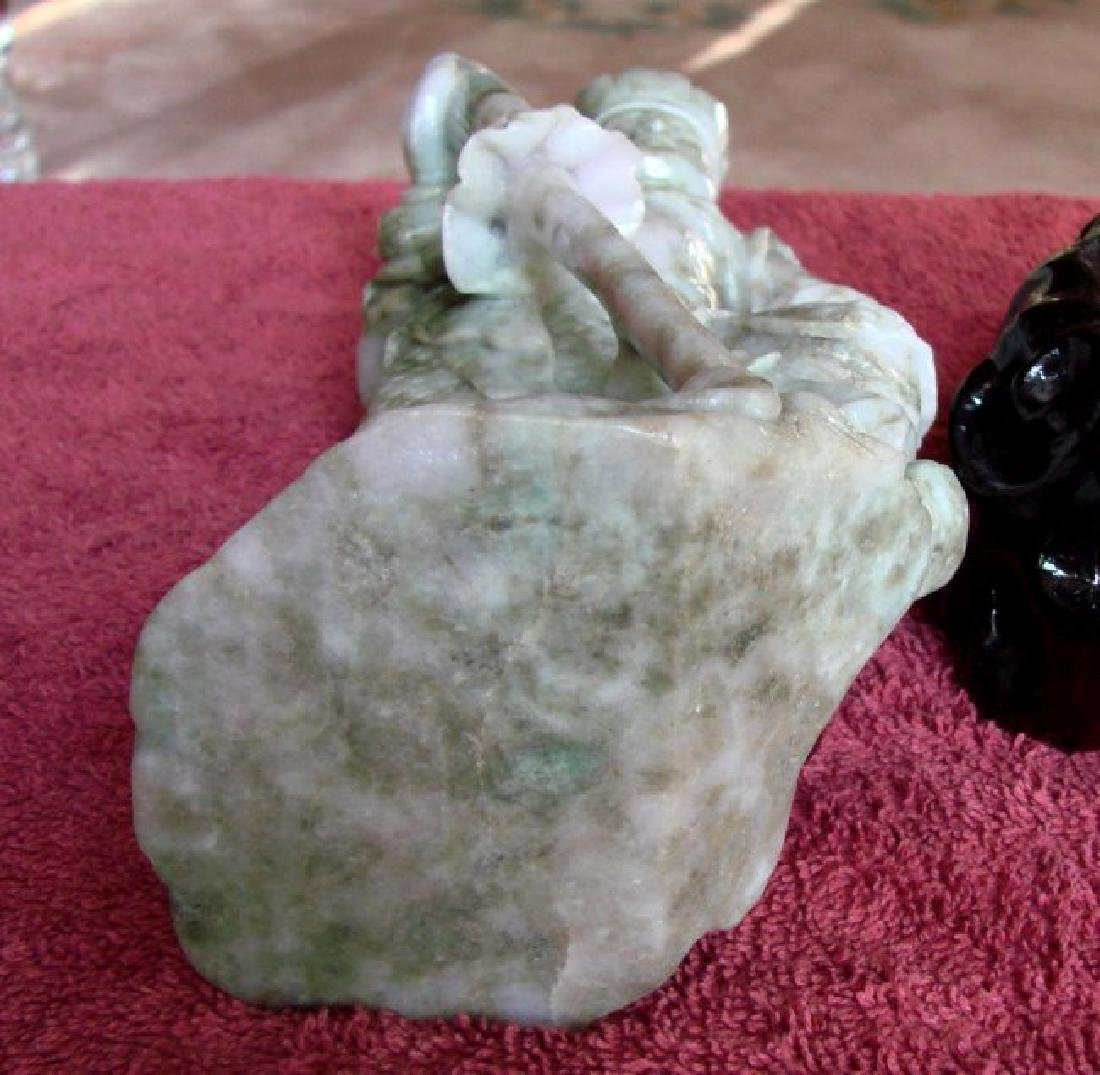 19th Century Jade Carving Famous Dragon Gong Guanyu - 8