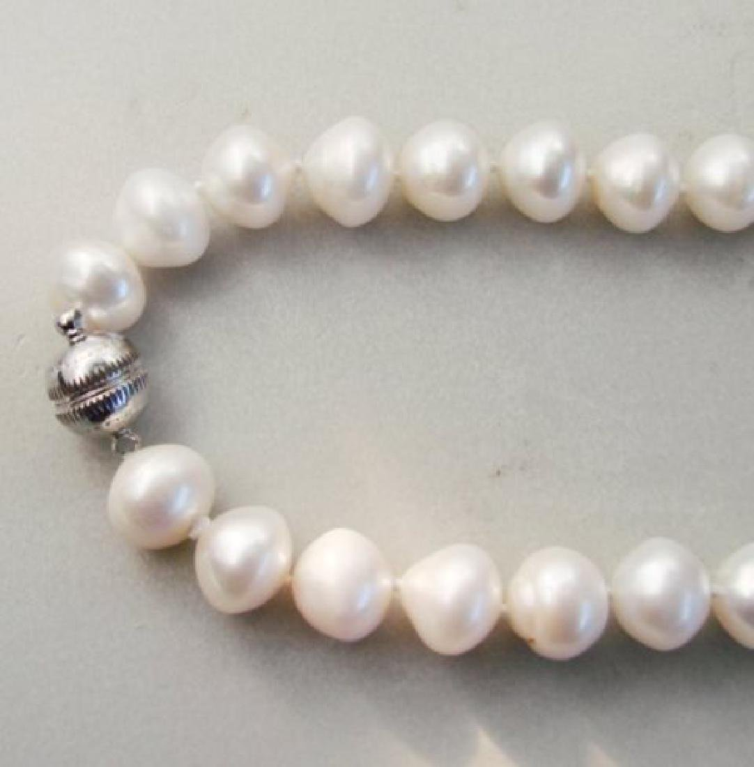 "Beautiful Culture Pearl 11mm Necklace 17"" - 3"