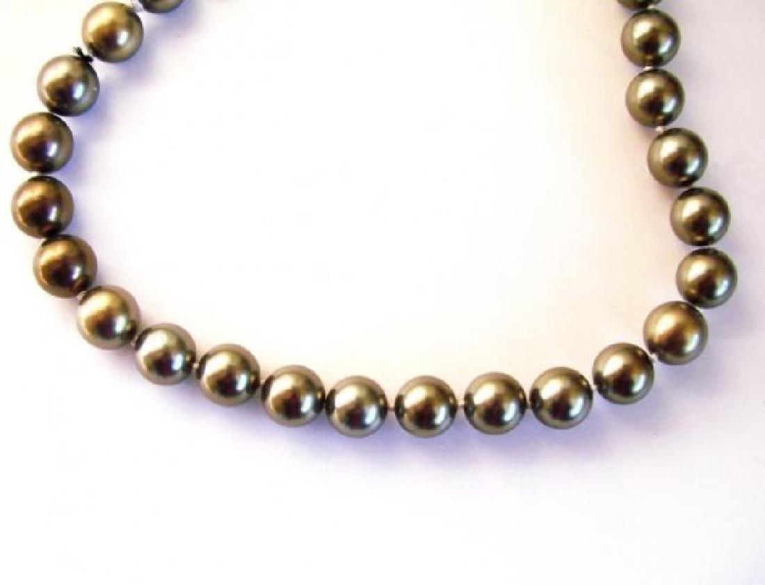 """Necklace Swarovski  Pearl 12mm SZ 16"""""""