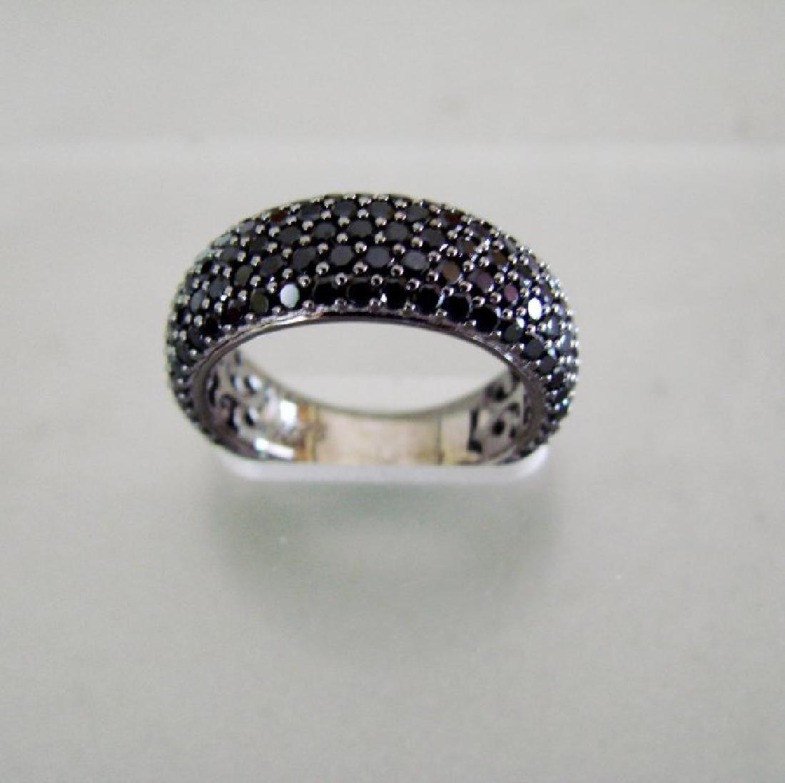 Creation Black Diamonds 2.85Ct 18k B/g Overaly