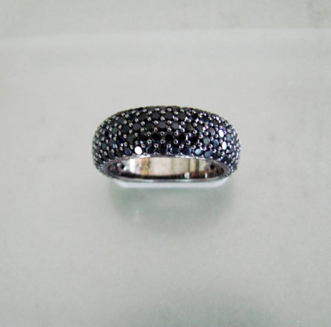 Creation Black Diamonds 2.85Ct 18k B/g Overaly - 3