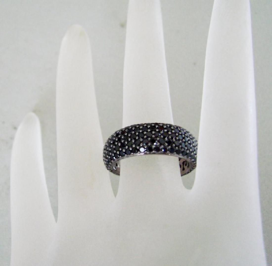 Creation Black Diamonds 2.85Ct 18k B/g Overaly - 4