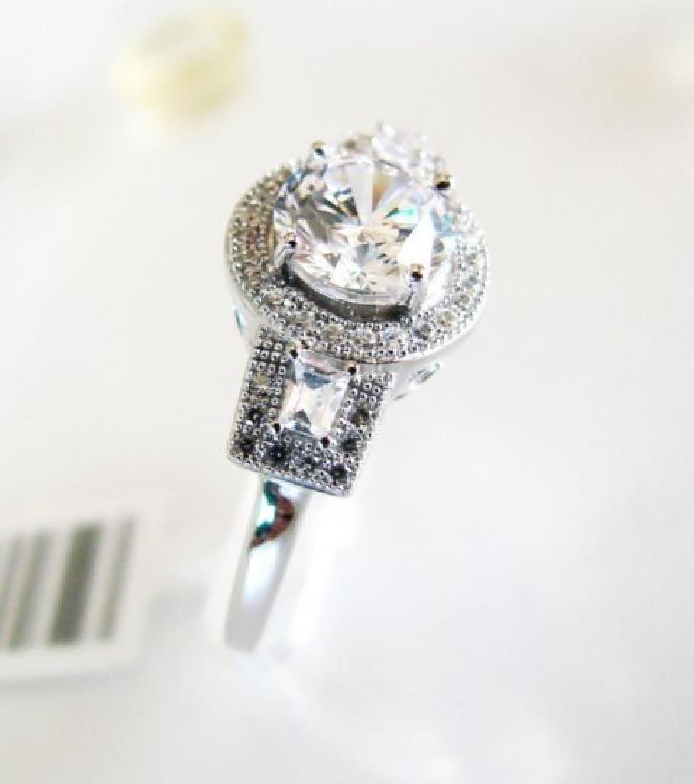 Creation Diamond-Ring 2.75Ct 18k W/g Overlay - 3