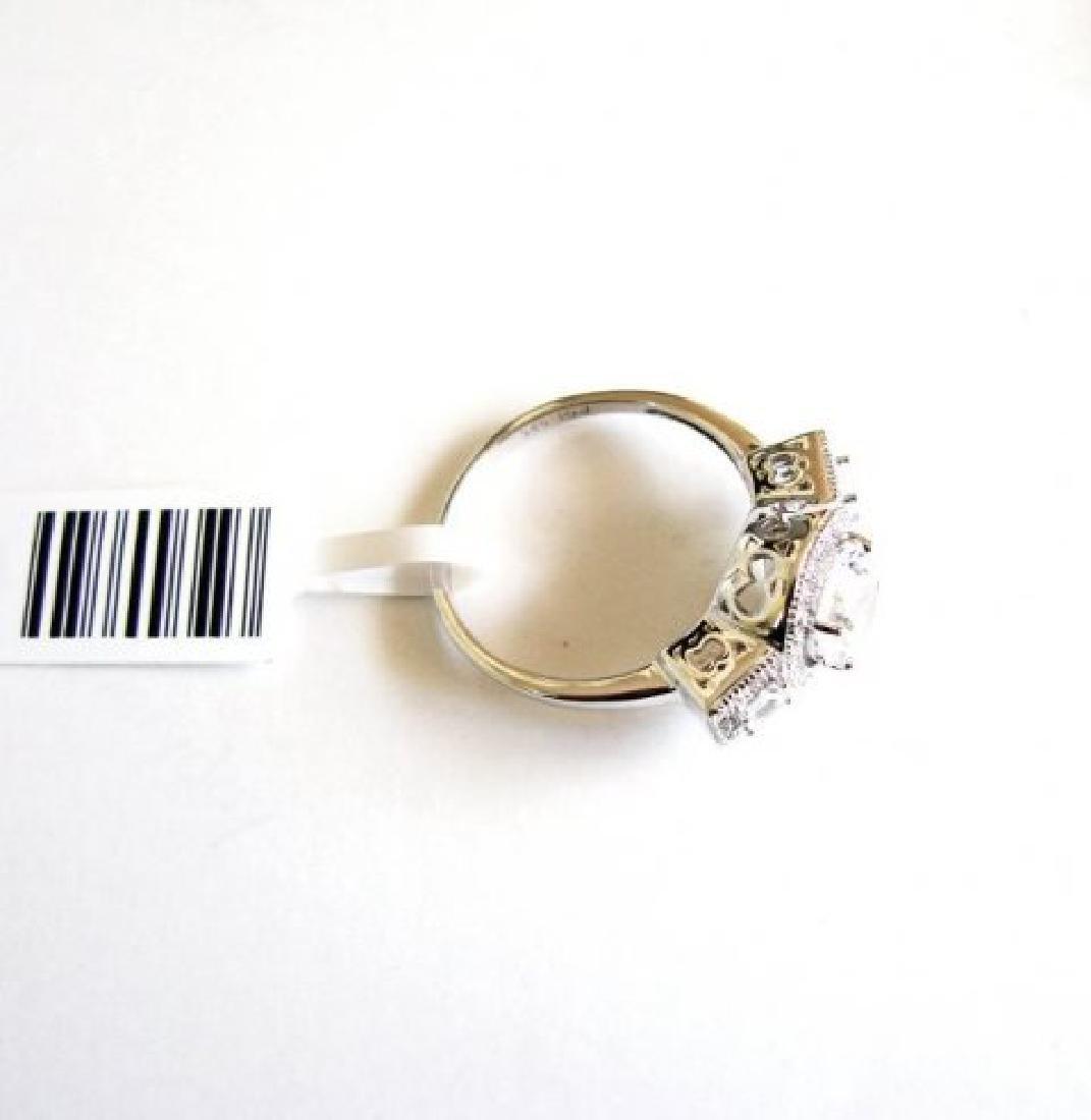 Creation Diamond-Ring 2.75Ct 18k W/g Overlay - 4