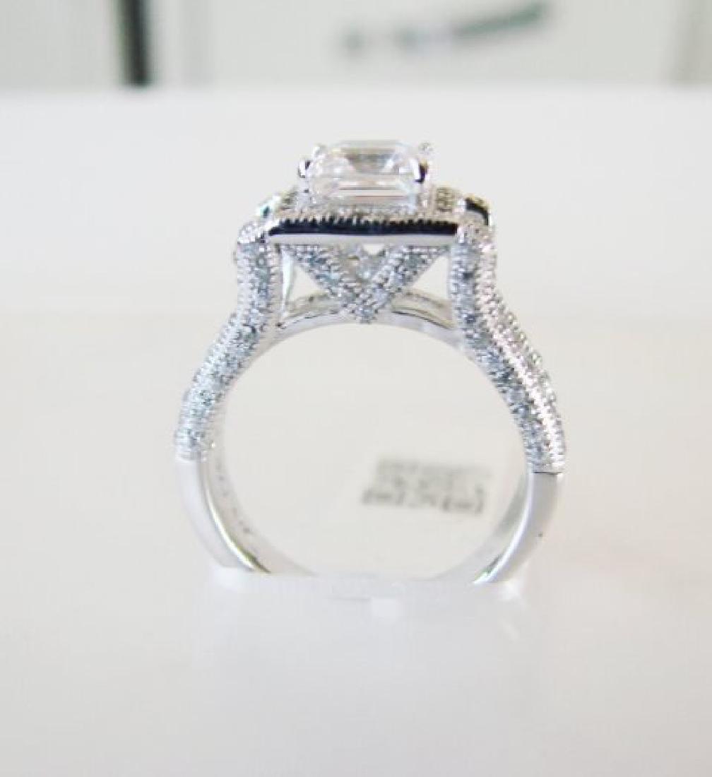 Creation Diamond-Ring 2.35Ct 18k W/g Overlay - 2