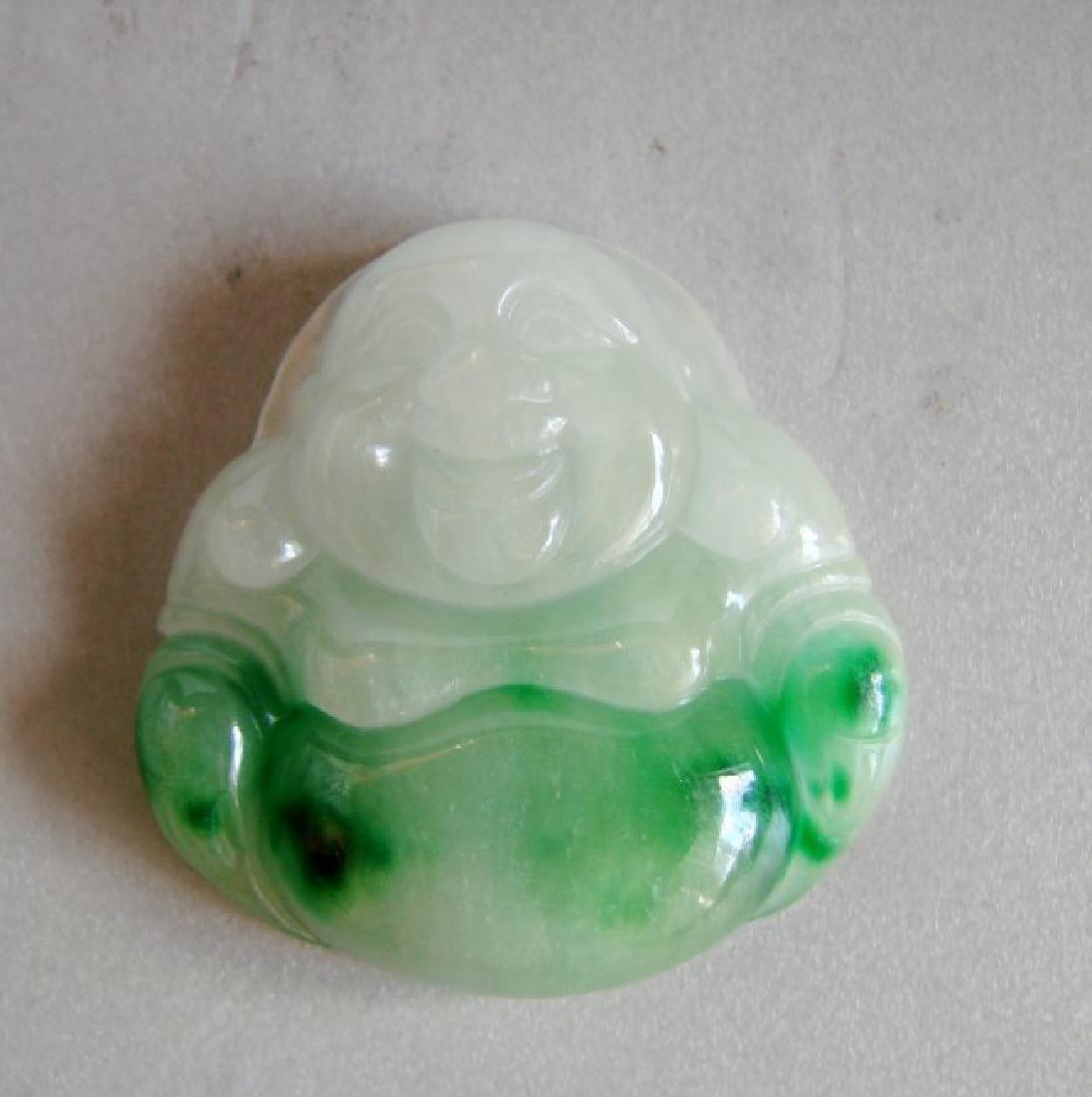 Buddha God Pendant Natural Jade Grade A