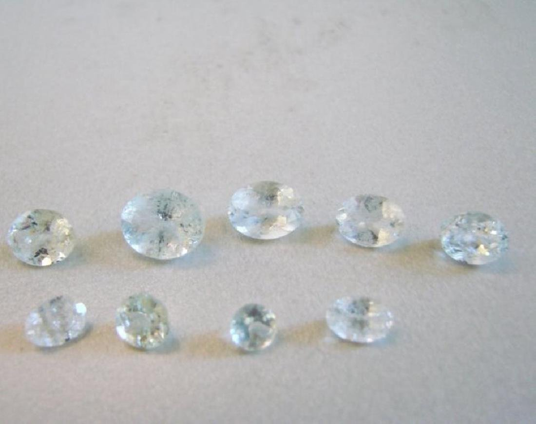 Natural Light Green Blue Aquamarine Mix Lot 10.85Ct