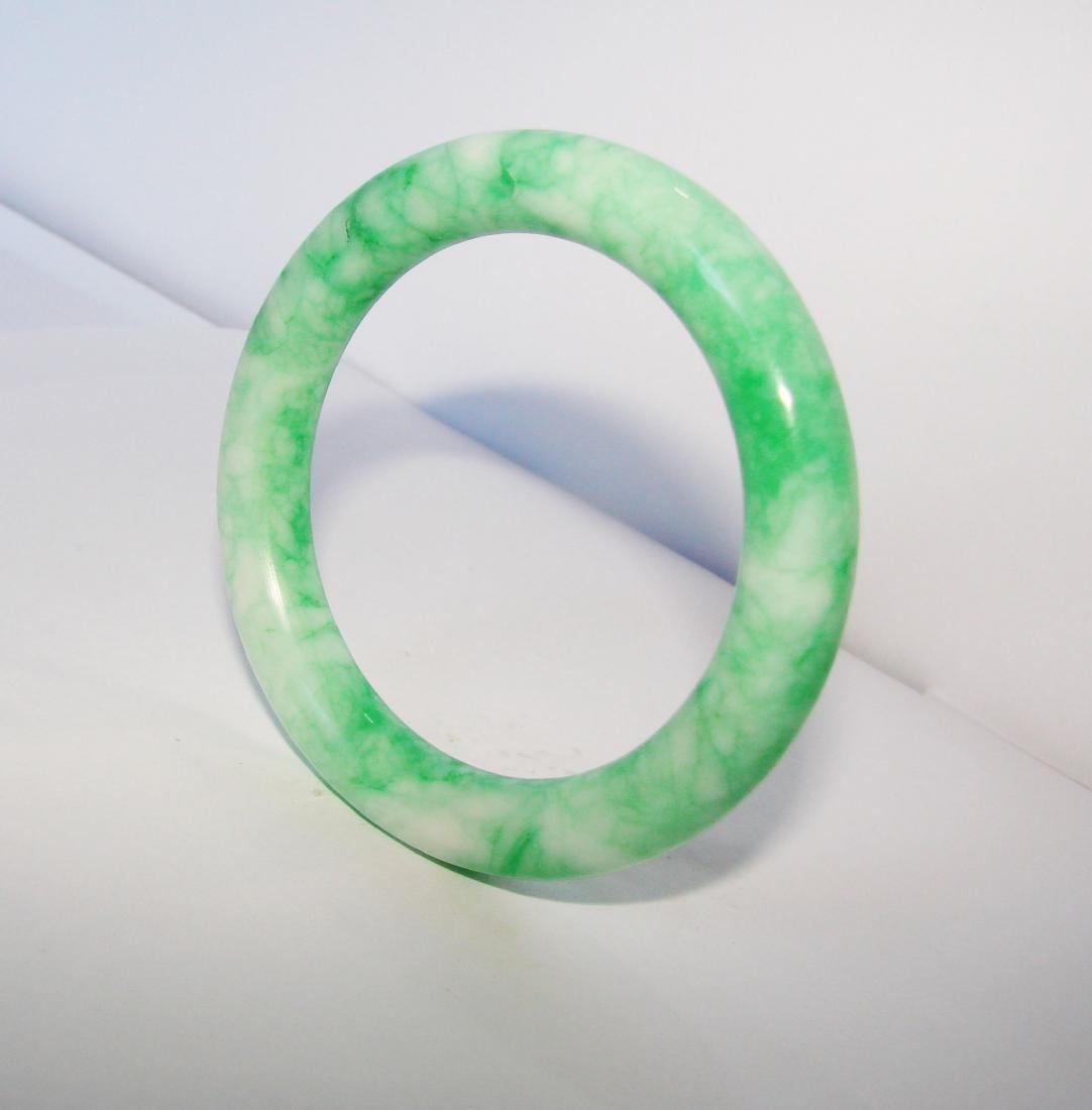 Natural Jade Bangle Grade A Inner Diameter :56mm - 2