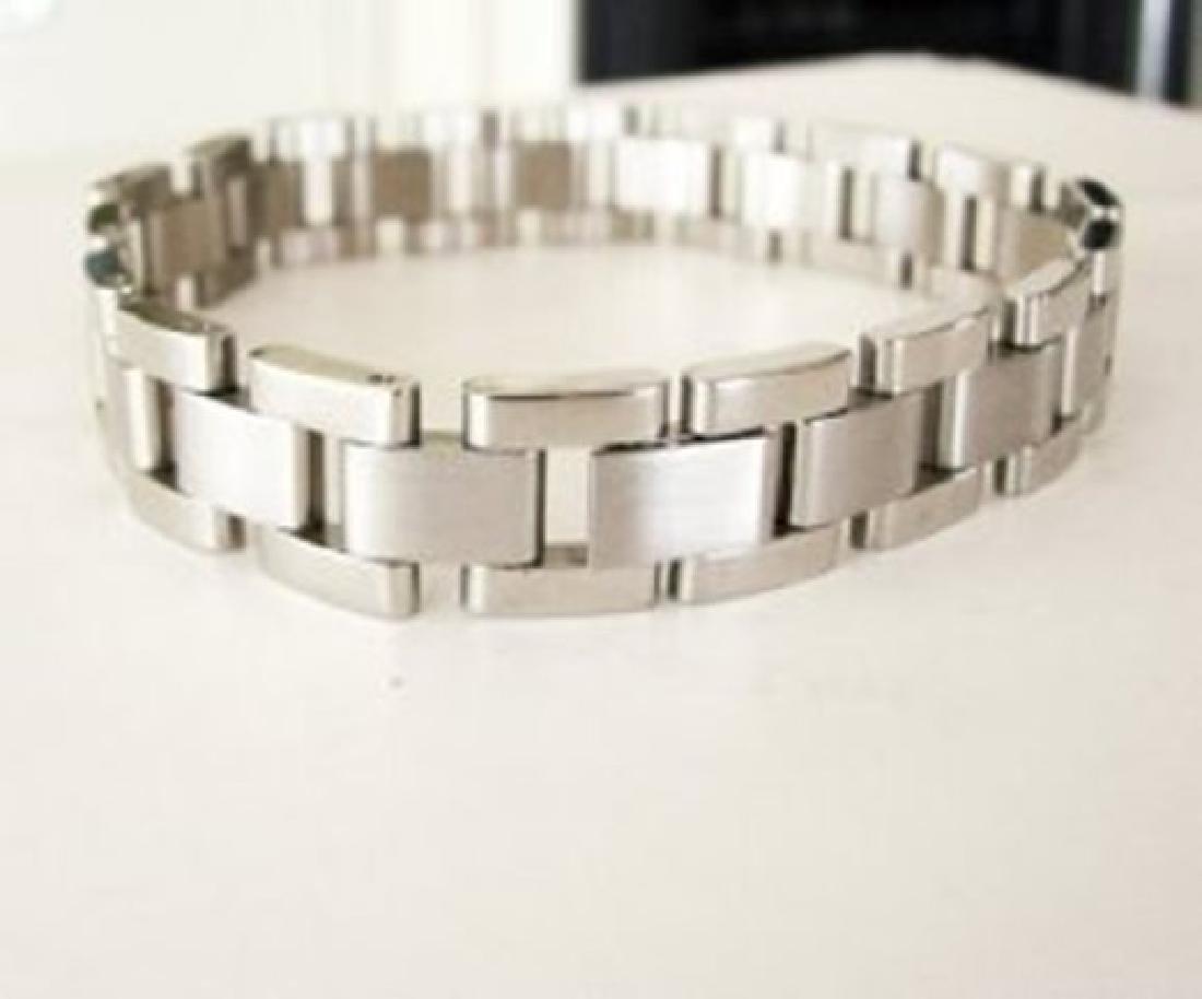 Men Bracelet Stainless Steel Design Rolex Style - 3