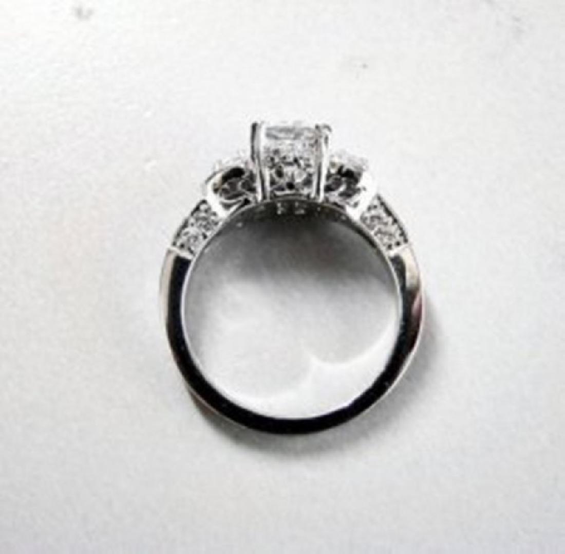 Engagement Ring Diamond 2.31Ct 18k White Gold - 4