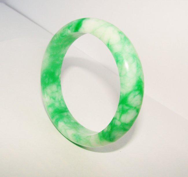 Natural Jade Bangle Grade A Inner Diameter :60mm
