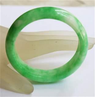 Natural Chinese Jade Bangle Grade A Size: 7.25