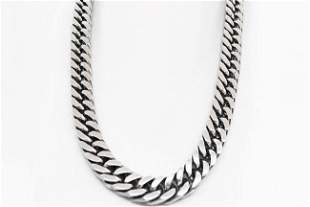 Man's Stainless Steel Cuban Chain Necklace