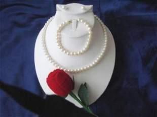 Elegant 6-7mm White Cultured Pearl