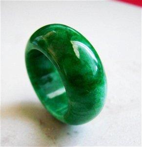 Natural Jadeit Jade Ring Grade A Size: 8