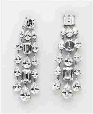 Chandelier Creation, Diamond 11.05 CT W/g Overlay