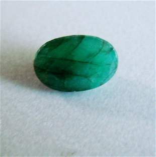 Natural Emerald Oval Shape 4.43Ct