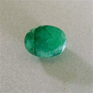 Natural Emerald Oval Shape 2.50Ct 9.1x7.1x5.2 mm
