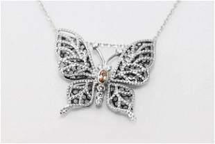 Creation, Diamond Necklace Butterfly Pendant