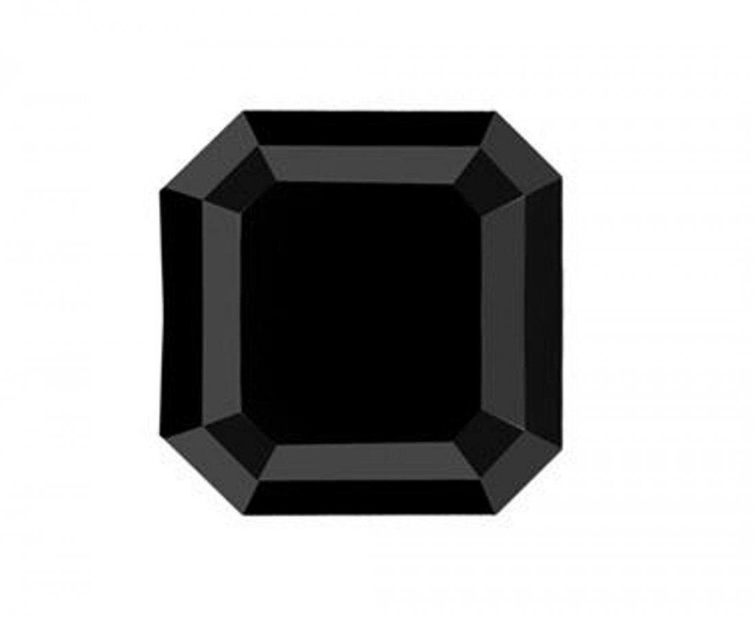 243: Loose Black Diamond Cushion Shape 6.51Ct 11.4x11.4