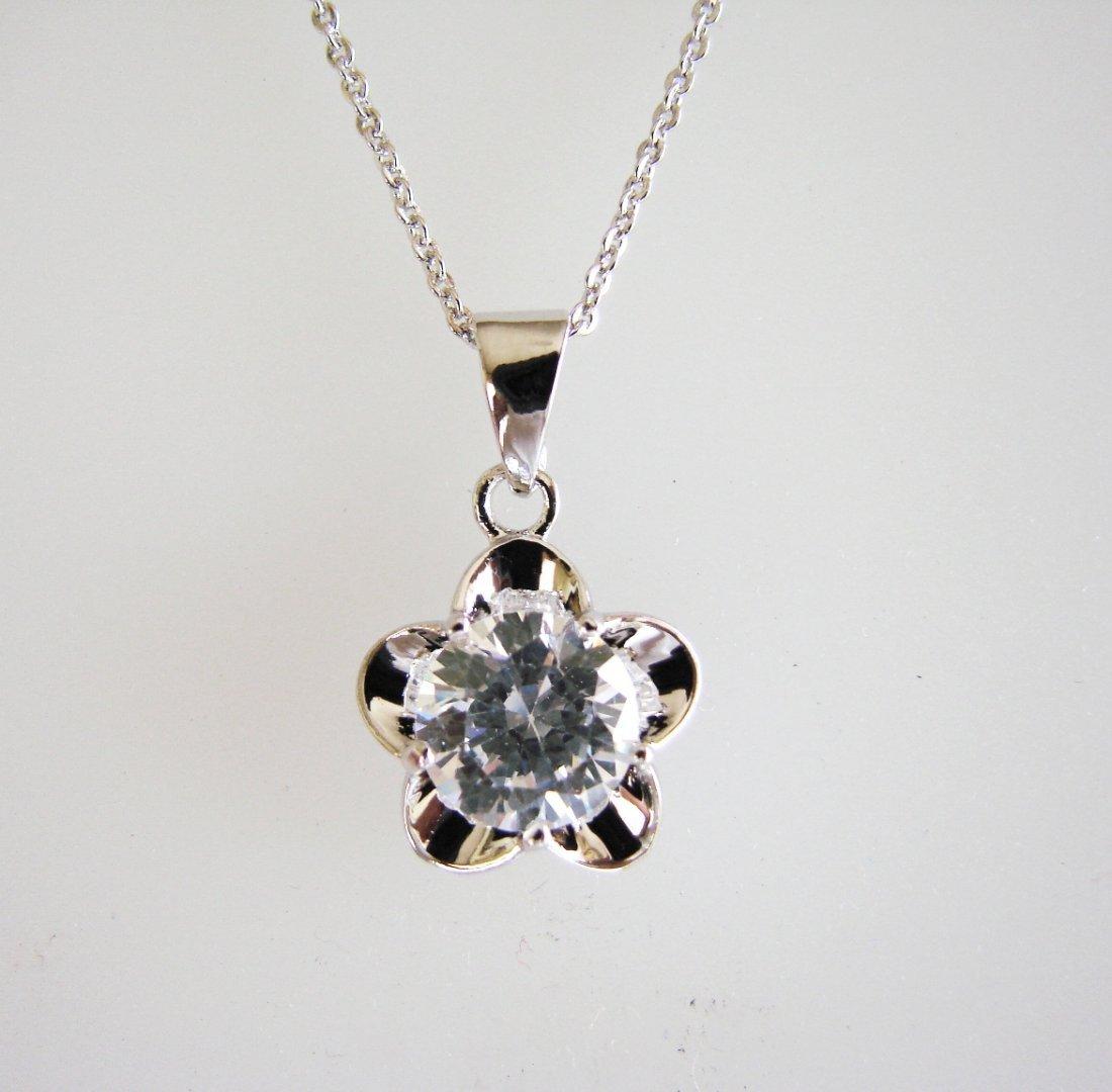 Creation Diamond/ Pendant 3.0018k W/G Overlay