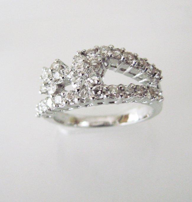 Anniversary Diamond Ring 2.08Ct 18k W/g