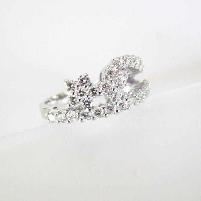 Anniversary Diamond Ring 2.08Ct 18k W/g - 2