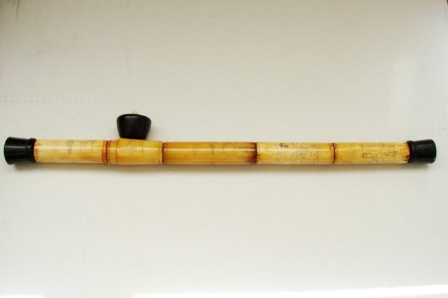 Chinese Art Ivory Opium Pipe