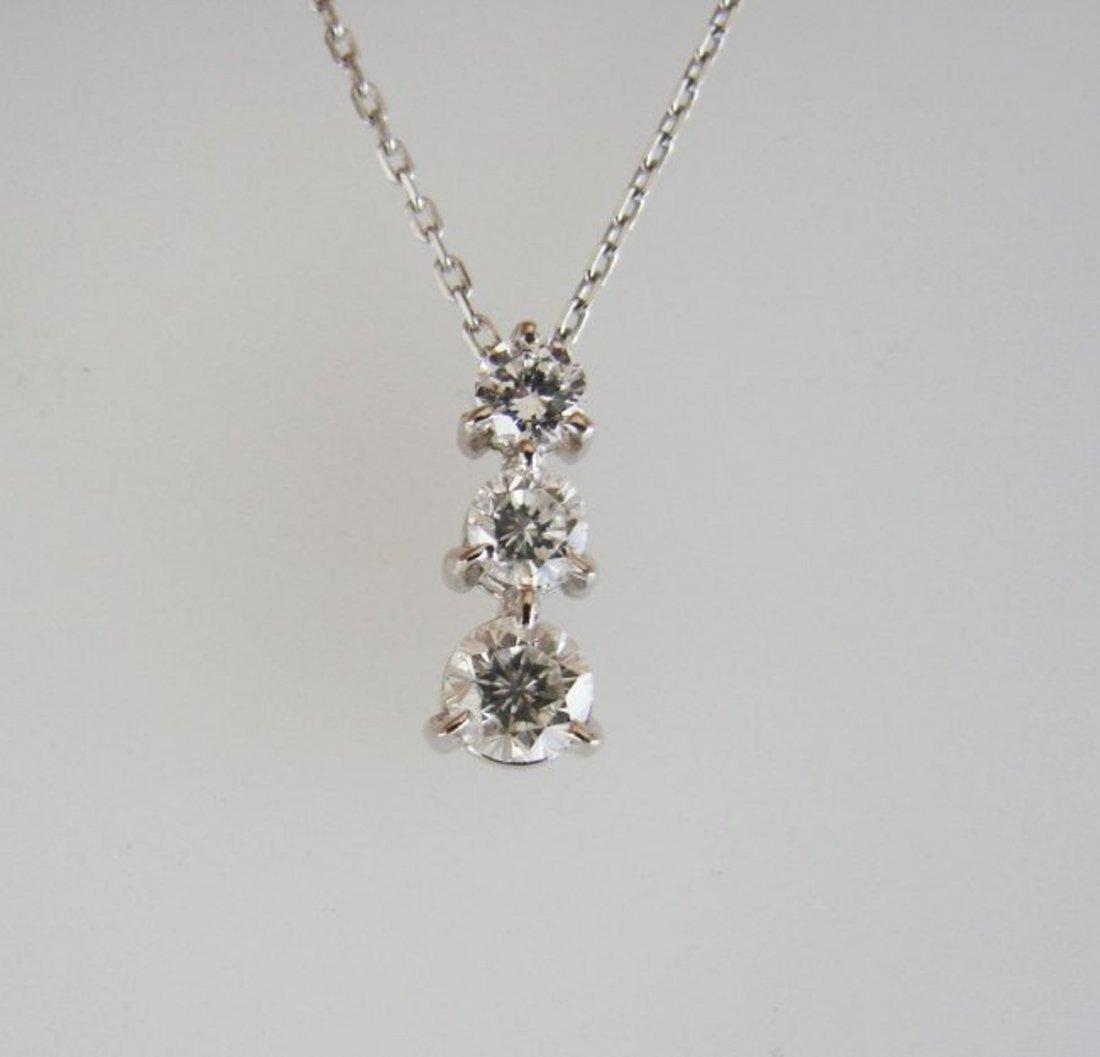 Graduation Diamond Pendant .79 Carat - 3