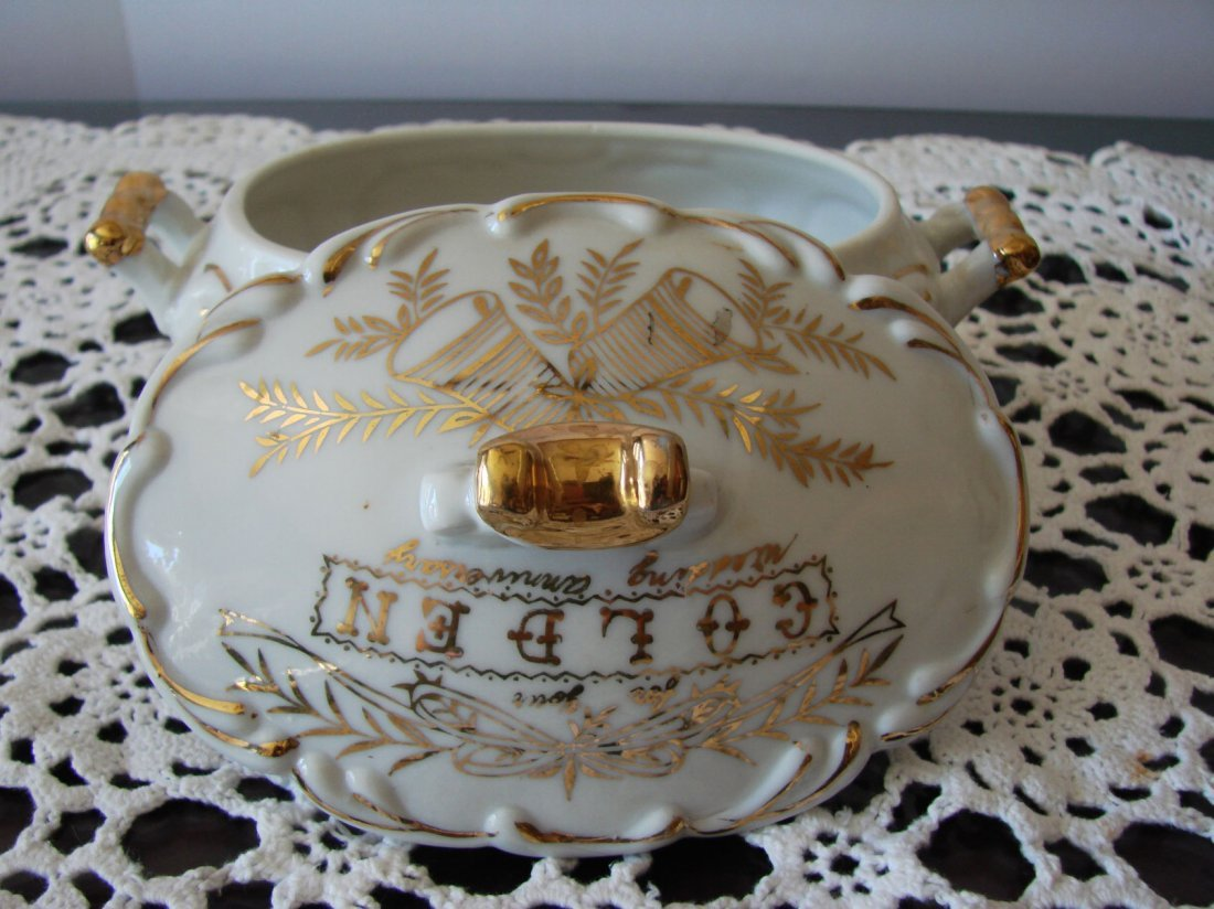 Ceramic Golden norcrest fine china - 2